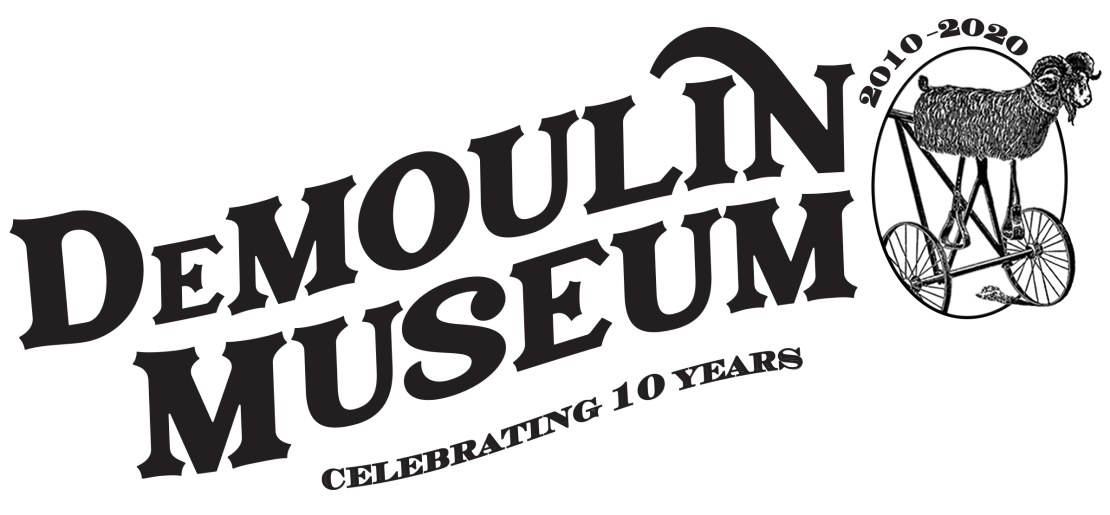 DeMoulin Museum logo 10th Anniversary