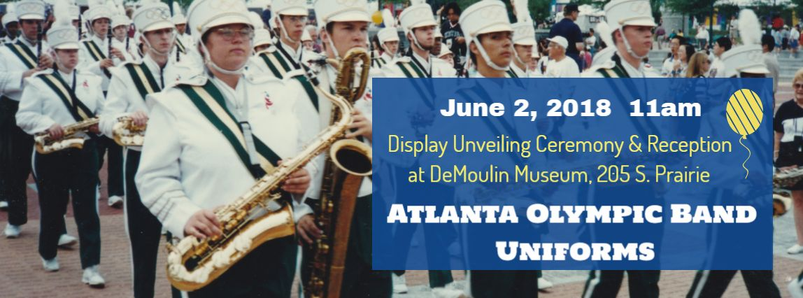 Museum to unveil Atlanta Olympic Band Uniforms Display