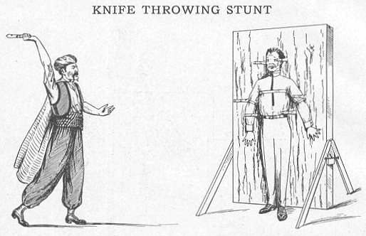 Catalog Page - Knife Throwing Stunt