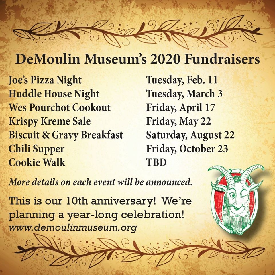 Museum Fundraisers in 2020