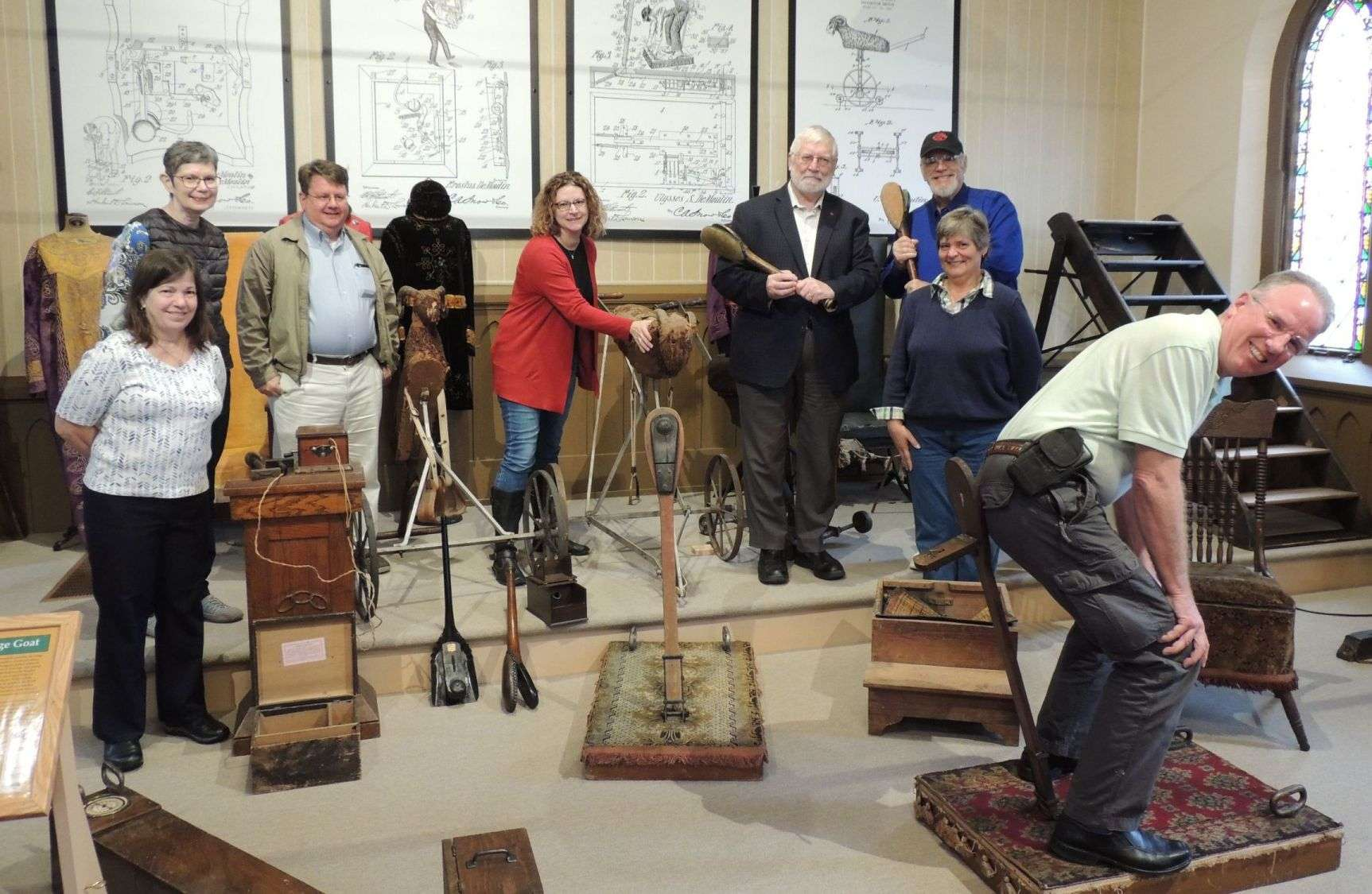 Getting up front and personal with the Masonic Library & Museum Association annual meeting, hosted by the DeMoulin Museum in 2018